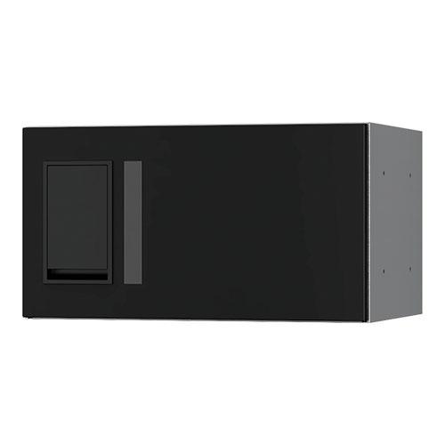 宅配ボックス プチ宅360機械式 H200 捺印無 ブラック KS-TLP36R2A-BK