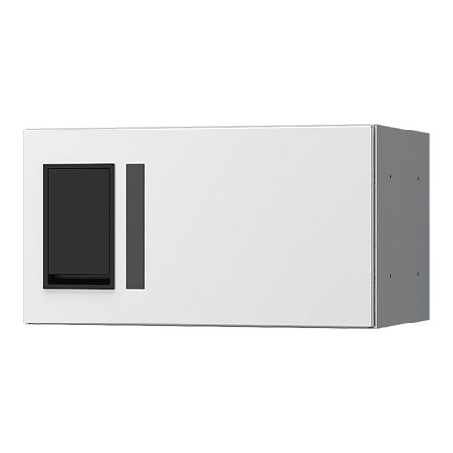 宅配ボックス プチ宅360機械式 H200 捺印無 ホワイト KS-TLP36R2A-W