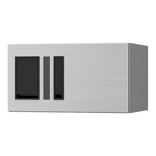 宅配ボックス プチ宅360機械式 H200 捺印付 ヘアーライン KS-TLP36R2AN-S