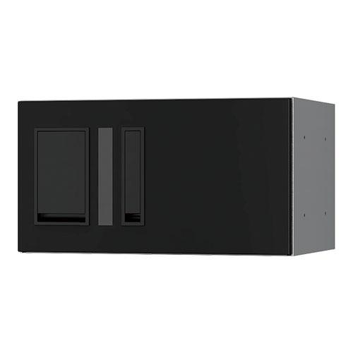 宅配ボックス プチ宅360機械式 H200 捺印付 ブラック KS-TLP36R2AN-BK