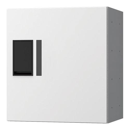 宅配ボックス プチ宅360機械式 H400 捺印無 ホワイト KS-TLP36R4A-W
