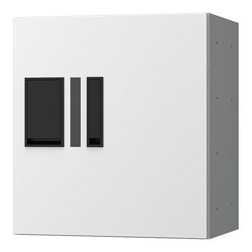 宅配ボックス プチ宅360機械式 H400 捺印付 ホワイト KS-TLP36R4AN-W
