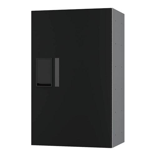 宅配ボックス プチ宅360機械式 H600 捺印無 ブラック KS-TLP36R6A-BK
