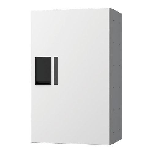 宅配ボックス プチ宅360機械式 H600 捺印無 ホワイト KS-TLP36R6A-W