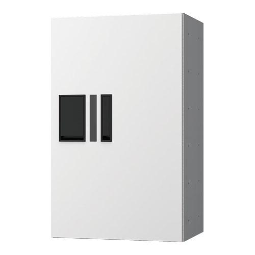 宅配ボックス プチ宅360機械式 H600 捺印付 ホワイト KS-TLP36R6AN-W