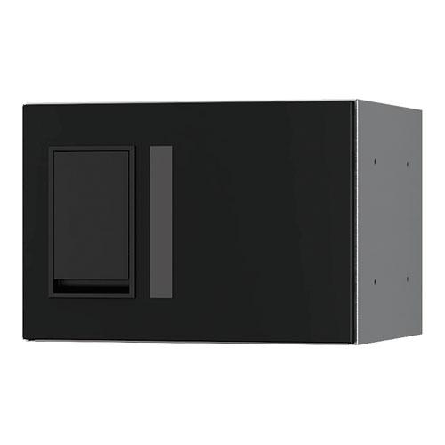 宅配ボックス プチ宅280機械式 H200 捺印無 ブラック KS-TLP28R2A-BK