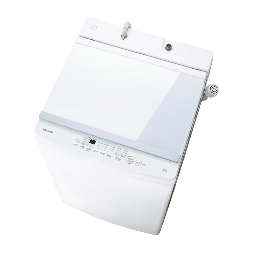 東芝 全自動洗濯機 10kg ホワイト AW-10M7(W)