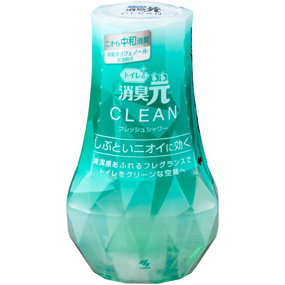 小林製薬 トイレの消臭元 CLEAN フレッシュシャワー 400ml