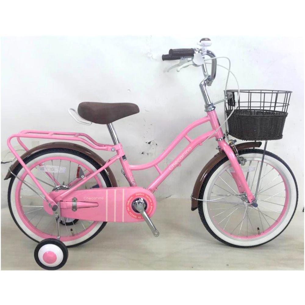 幼児車 チェカリーナ 18インチ ピンク