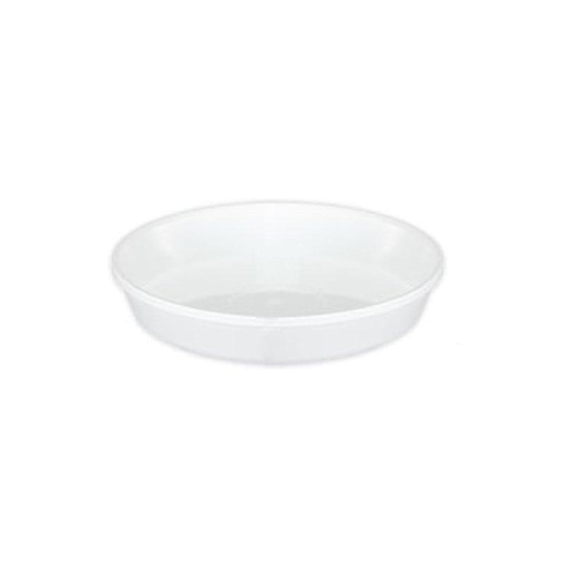 大和プラスチック 鉢皿サルーン 1号 ホワイト