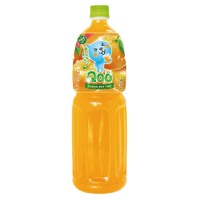 コカ・コーラ ミニッツメイド QOO みかん 1.5L