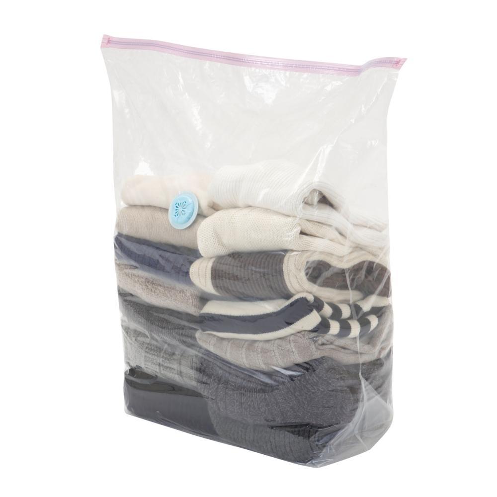 衣装ケース用 バルブ付衣類圧縮袋 2枚入り