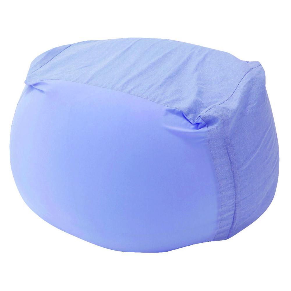 アテーナライフ 涼+シリーズ 強力冷感 ひんやりジャンボビーズクッション替カバー 抗菌防臭