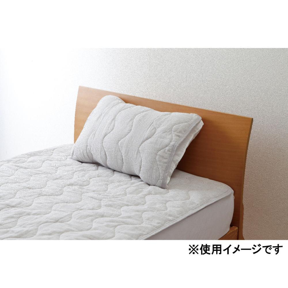 アテーナライフ やわらかダブルガーゼ枕パッド 抗菌防臭 55×50cm