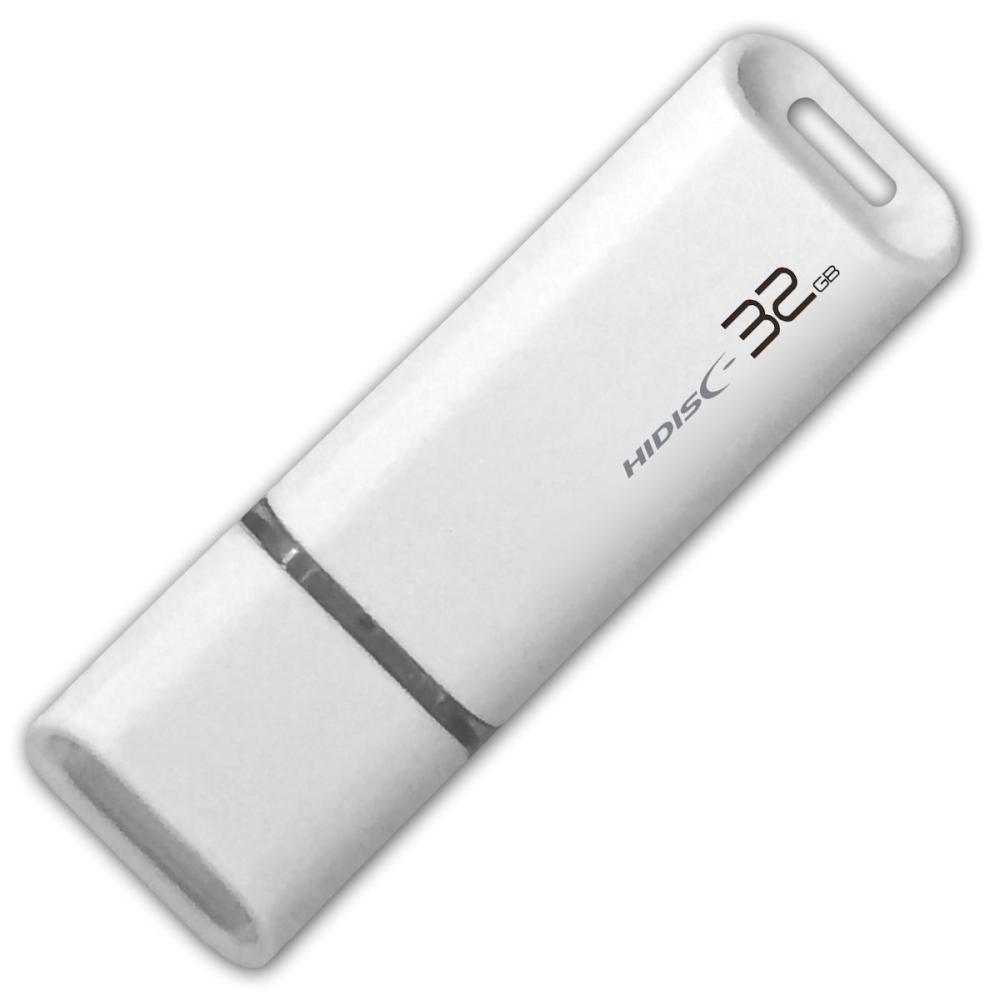 HIDISC キャップ式USBメモリ 32GB USB2.0