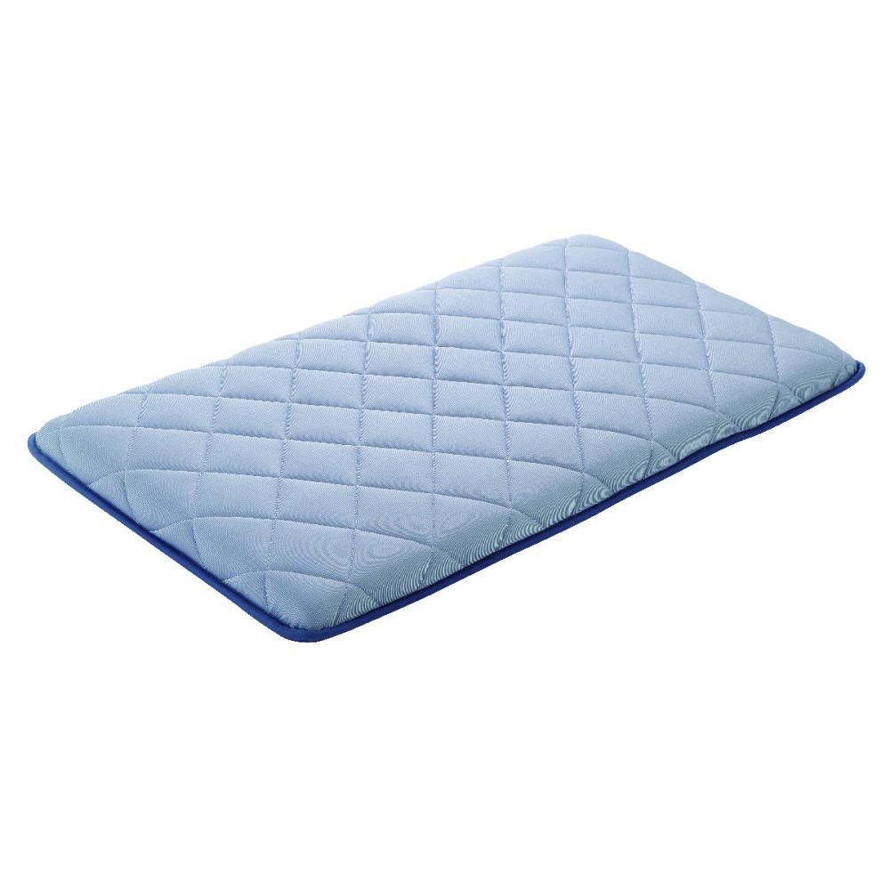 アテーナライフ 涼+シリーズ 冷感 ひんやり極厚三層長座布団 抗菌防臭 ブルー 各種