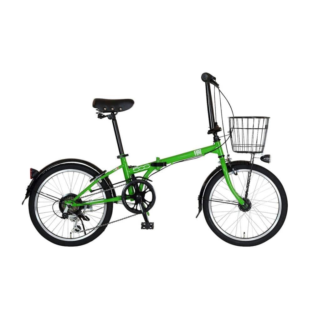 FIAT(フィアット) 折り畳み自転車 20インチ グリーン FDB206L