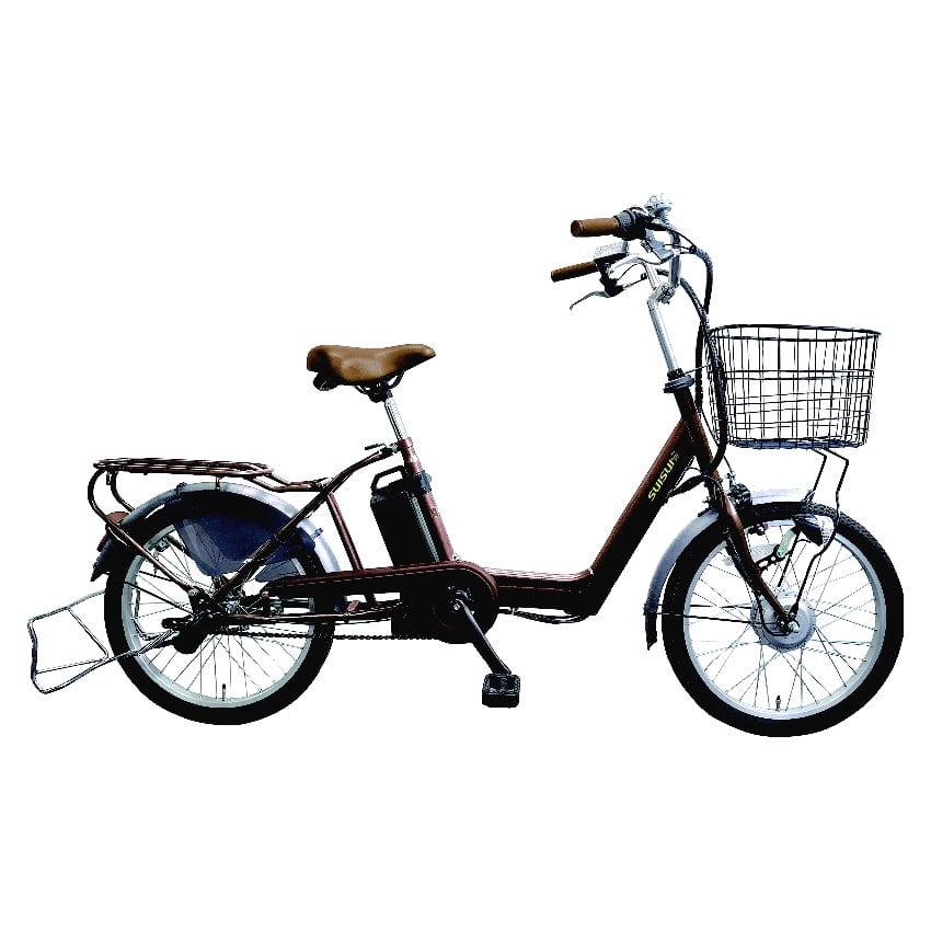 電動アシスト自転車 SUISUI(スイスイ) 20インチ ブラウン