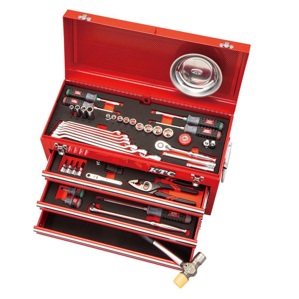 KTC 京都機械工具 工具セット67点 9.5sq SK36721X 各種