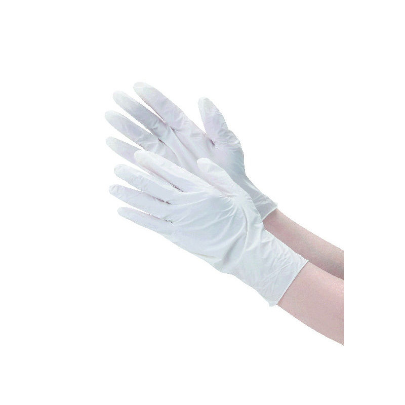 コメリ 作業用ニトリル手袋 ホワイト 50枚入り 各種