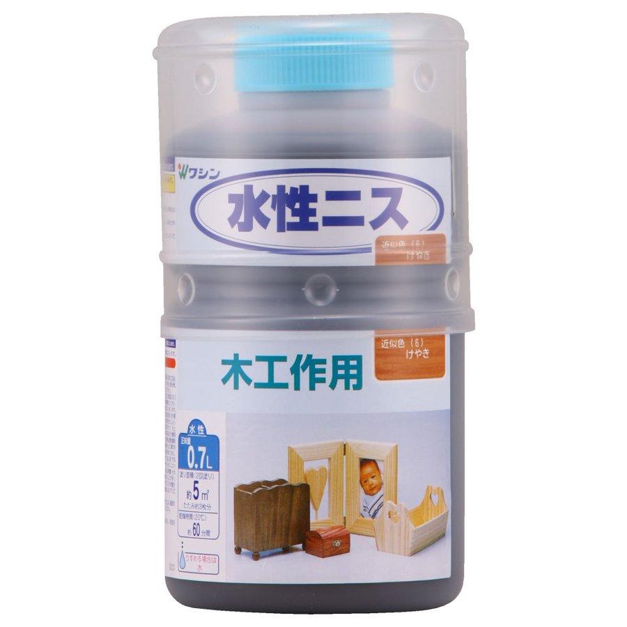 和信ペイント 水性ニス けやき 0.7L