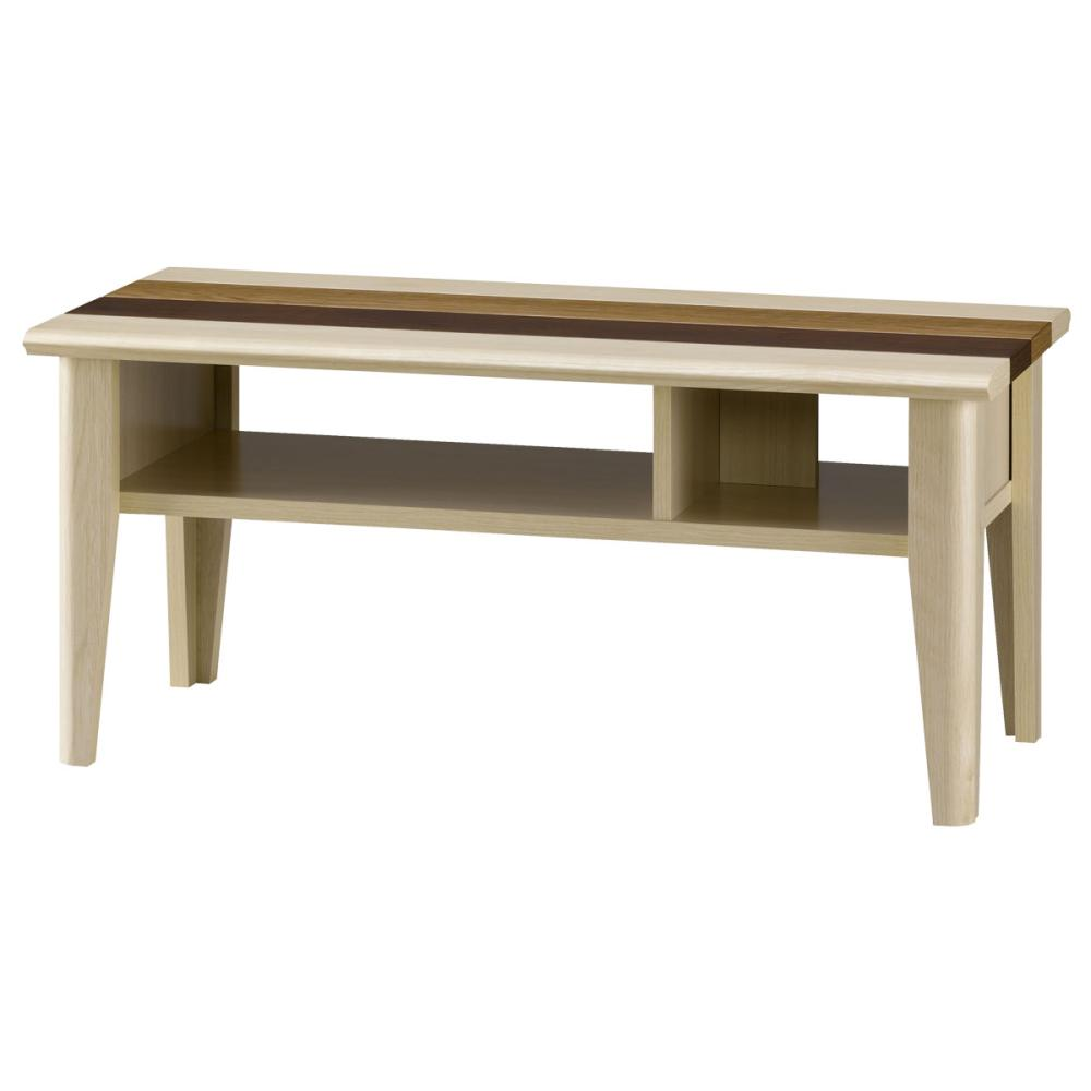 朝日木材加工 リビングテーブル オルネ ONC-3580LT ナチュラル