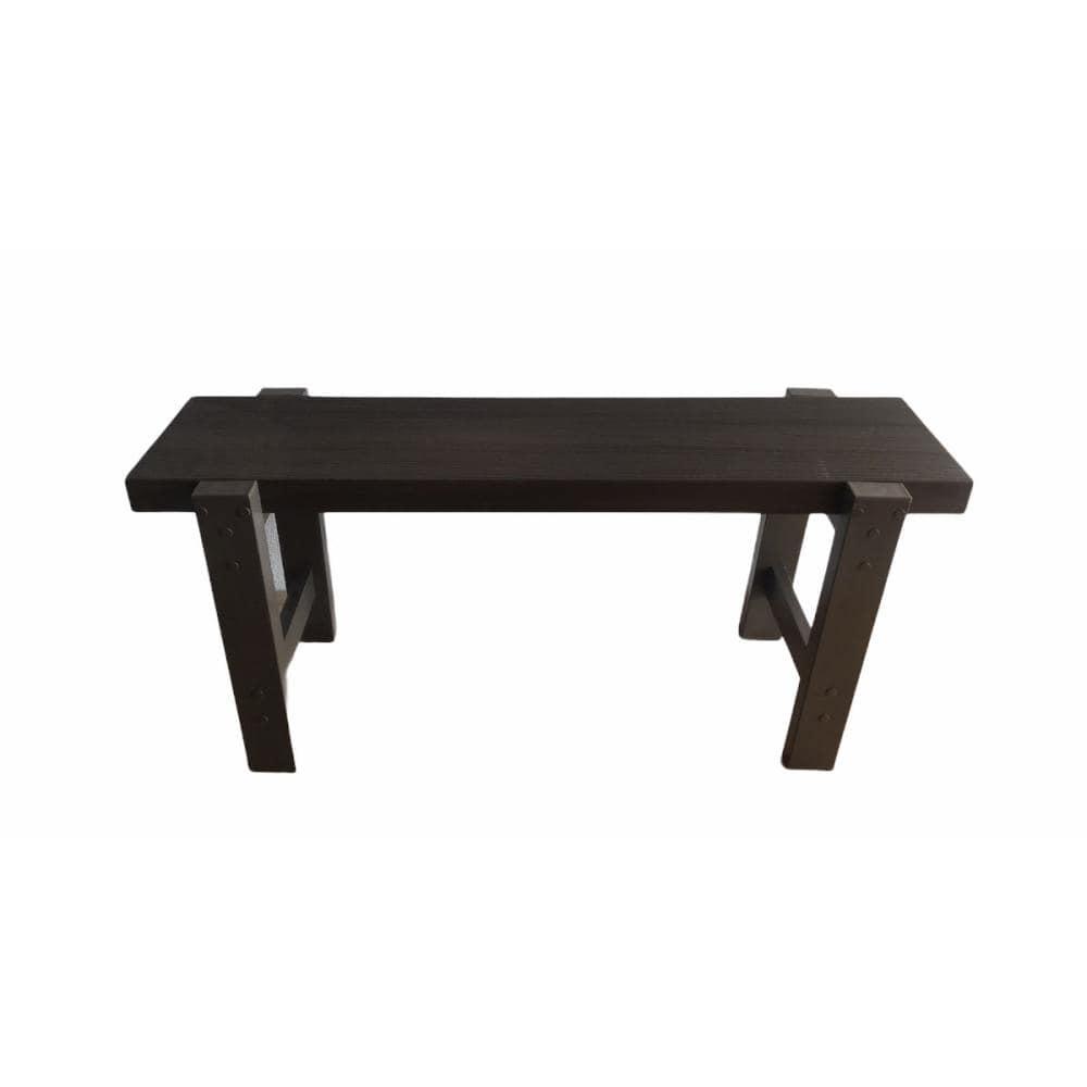 人工木おしゃれガーデンベンチ900(WN)