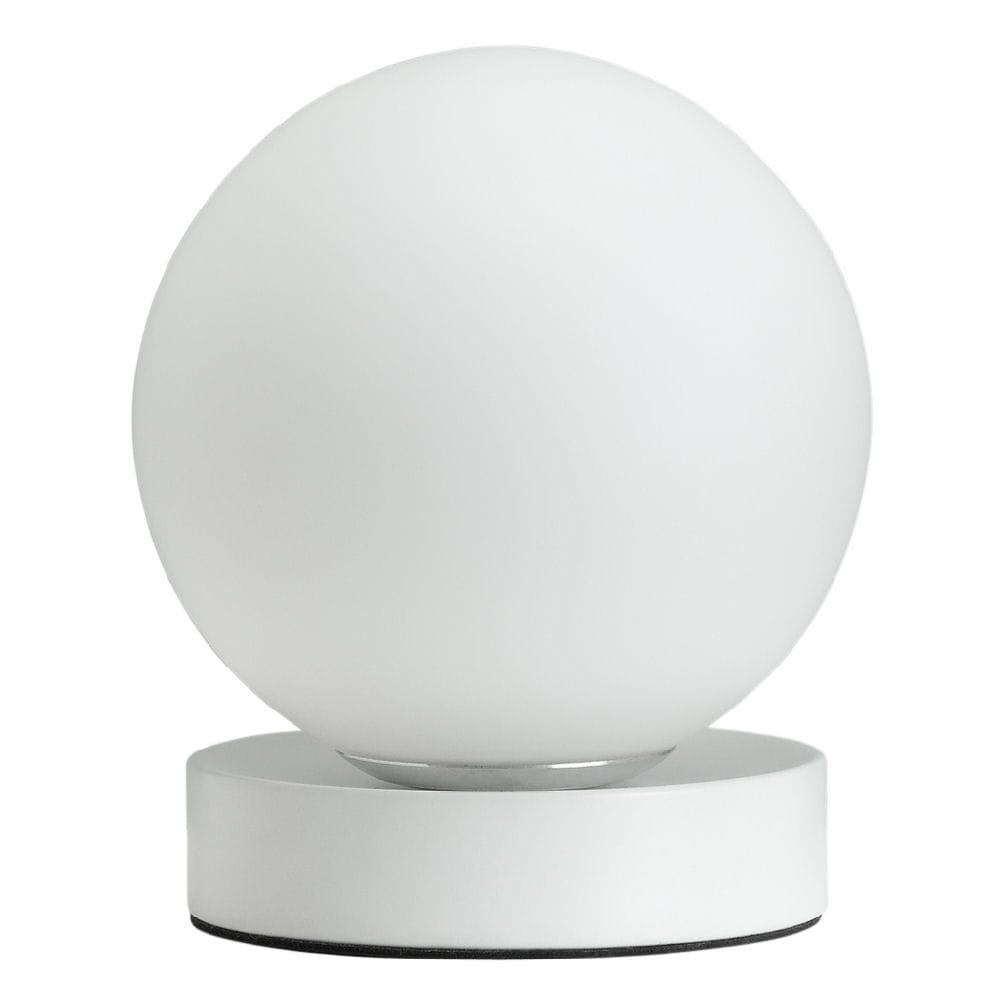 ヤザワ 丸型スタンド ホワイト SDXG01 電球別売