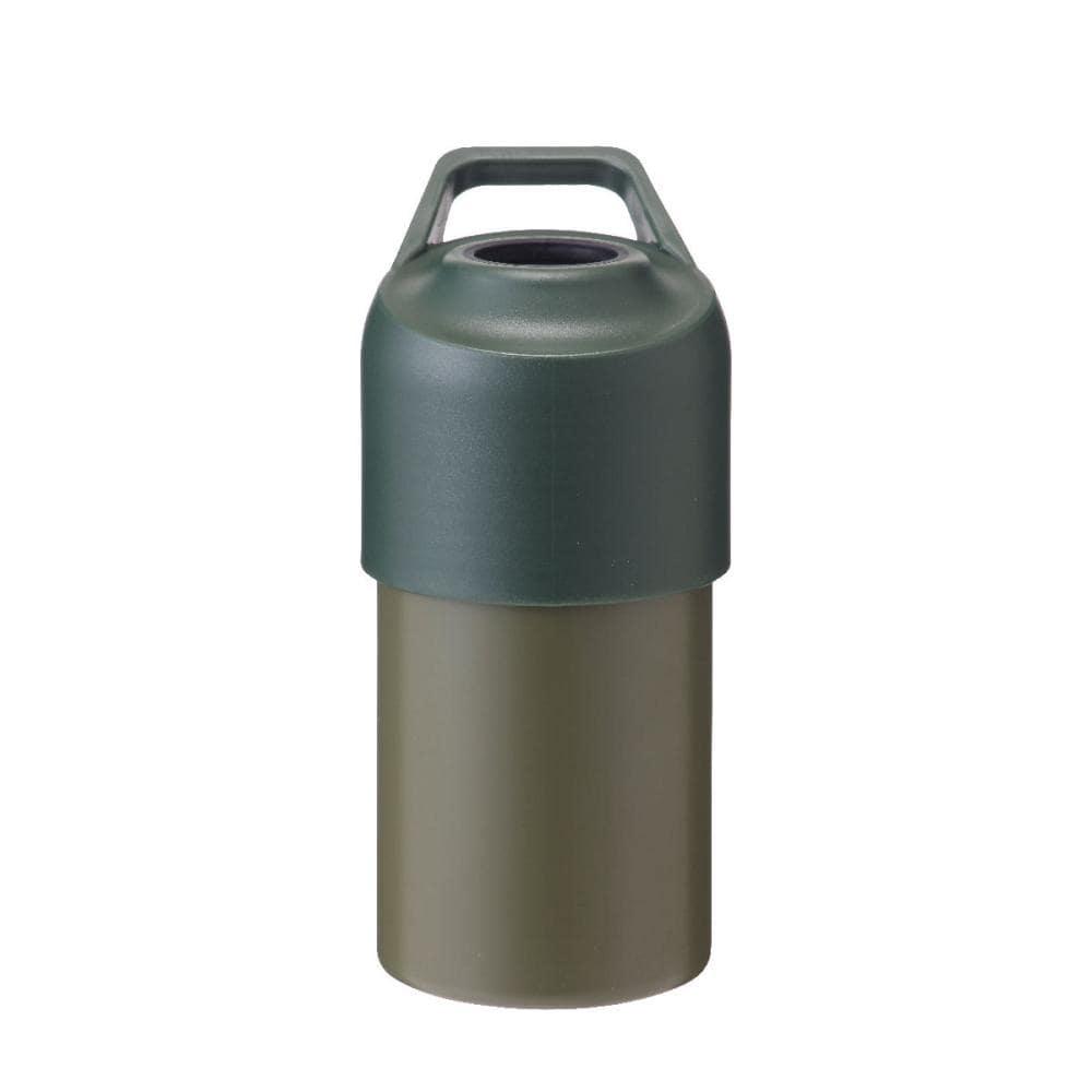 アテーナライフ 保冷ペットボトルホルダー 500ml~650ml カーキ