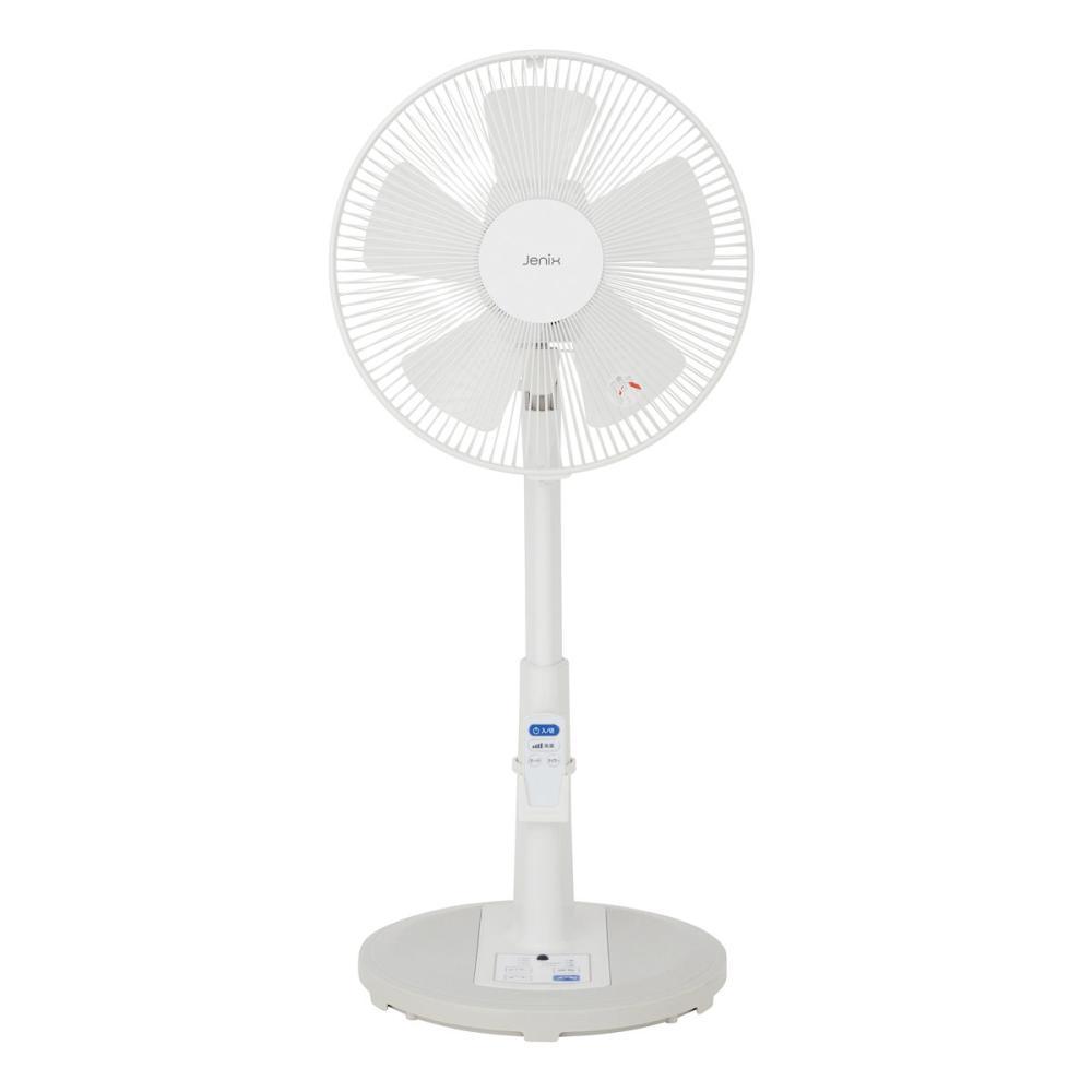 Jenix(ジェニックス) リモコン付き リビング扇風機 グレー KJY-R30GW