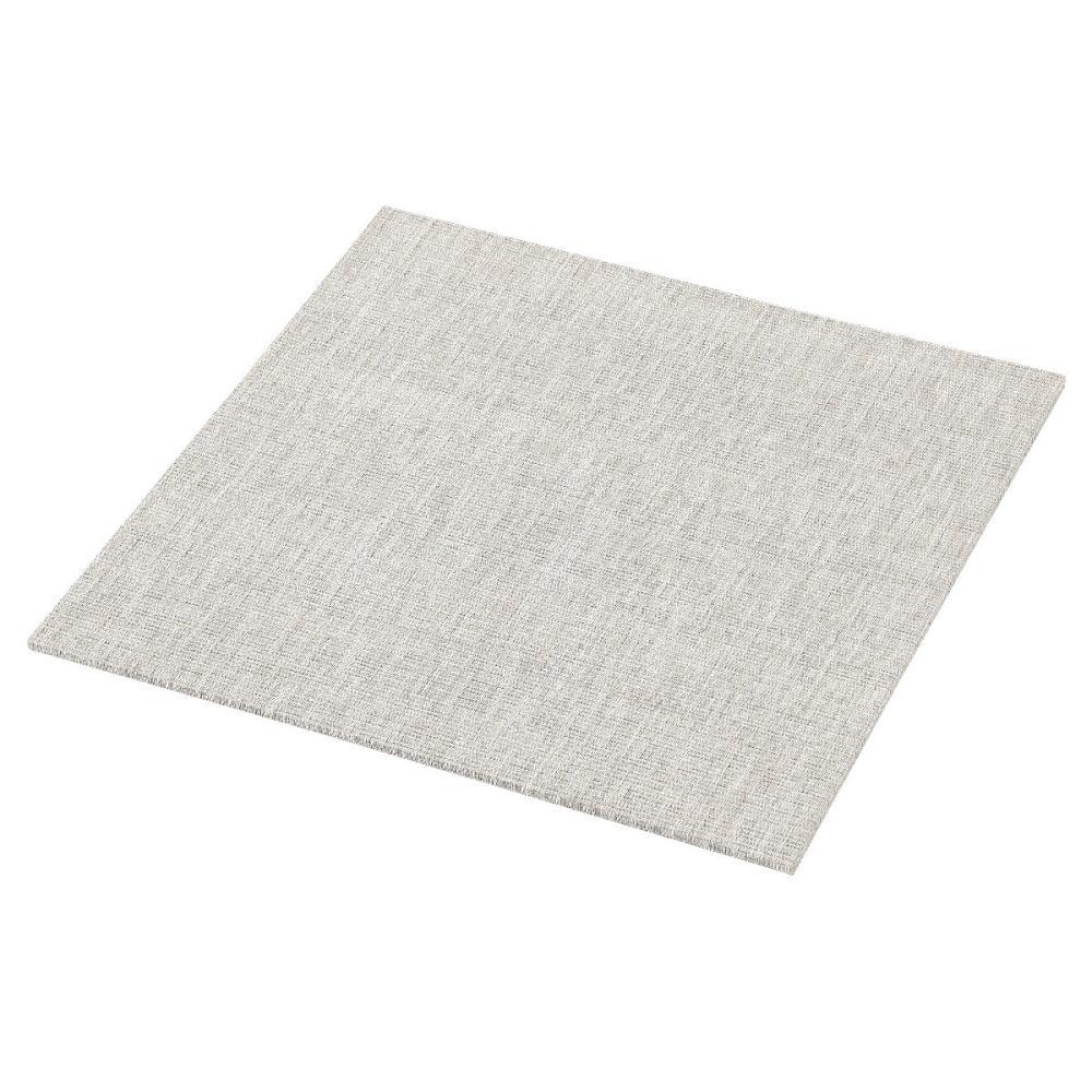 アテーナライフ 汚れに強いPVC置き畳 スロッグ グレー 58×58×1.2cm