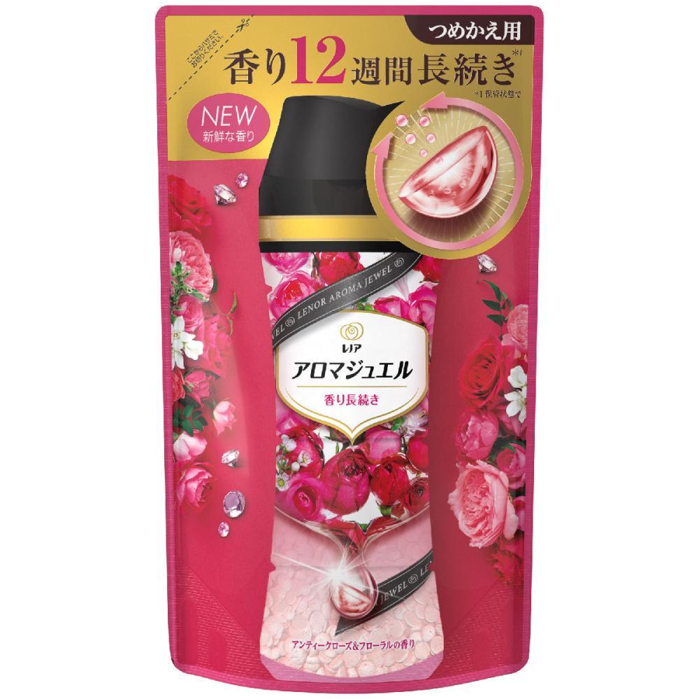 P&G レノアハピネス アロマジュエル アンティークローズ&フローラルの香り 詰替用 415ml