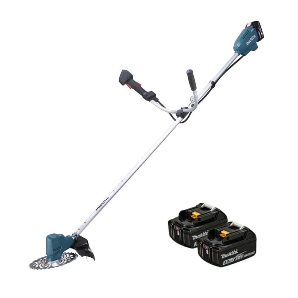 マキタ(Makita) 充電式草刈機 バッテリ2個付 18V 3Ah MUR190SDSF