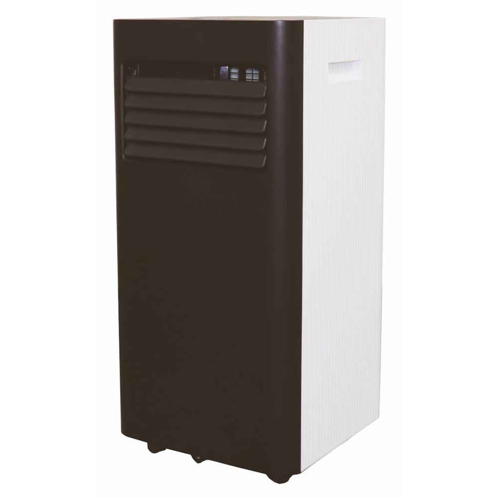広電 移動式エアコン 2.0Kw 冷暖タイプ ブラック KEP201RH