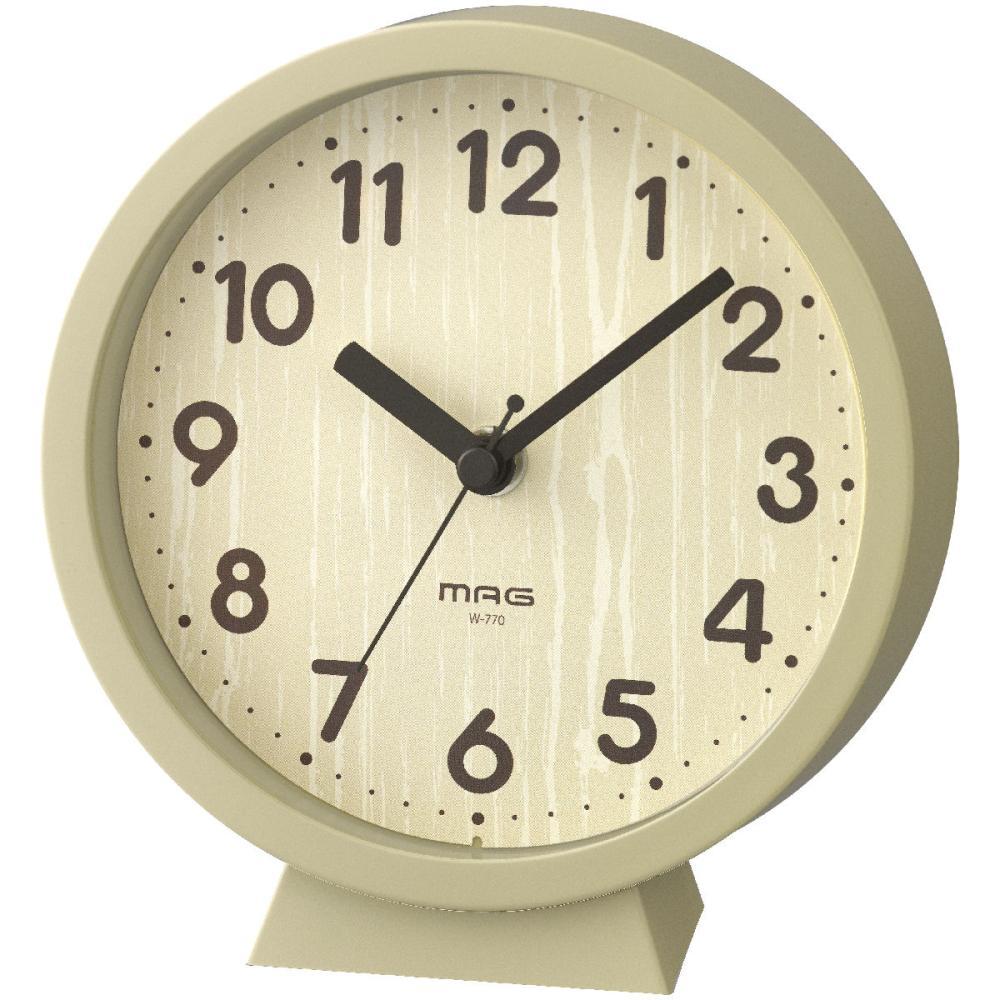 ノア精密 MAG 置掛両用時計 コンポート ナチュラル W-770 N-Z