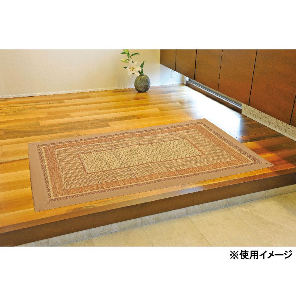 イケヒコ い草玄関マット ランクス ベージュ 60×90cm
