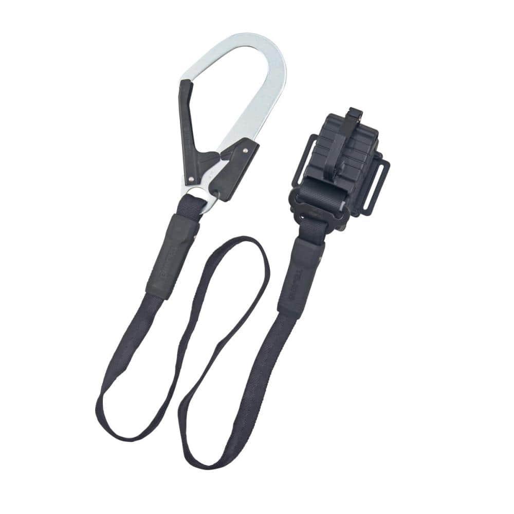 タジマ(TJMデザイン) ランヤード平ロープ縦型L1 B1FR150-TL1BK