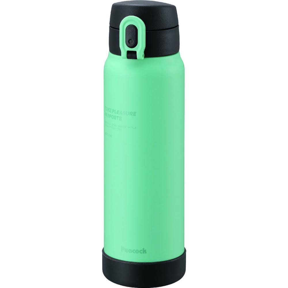 ピーコック魔法瓶 ステンレスマグボトル 600ml スモーキーブルー AKE-R60 ASM
