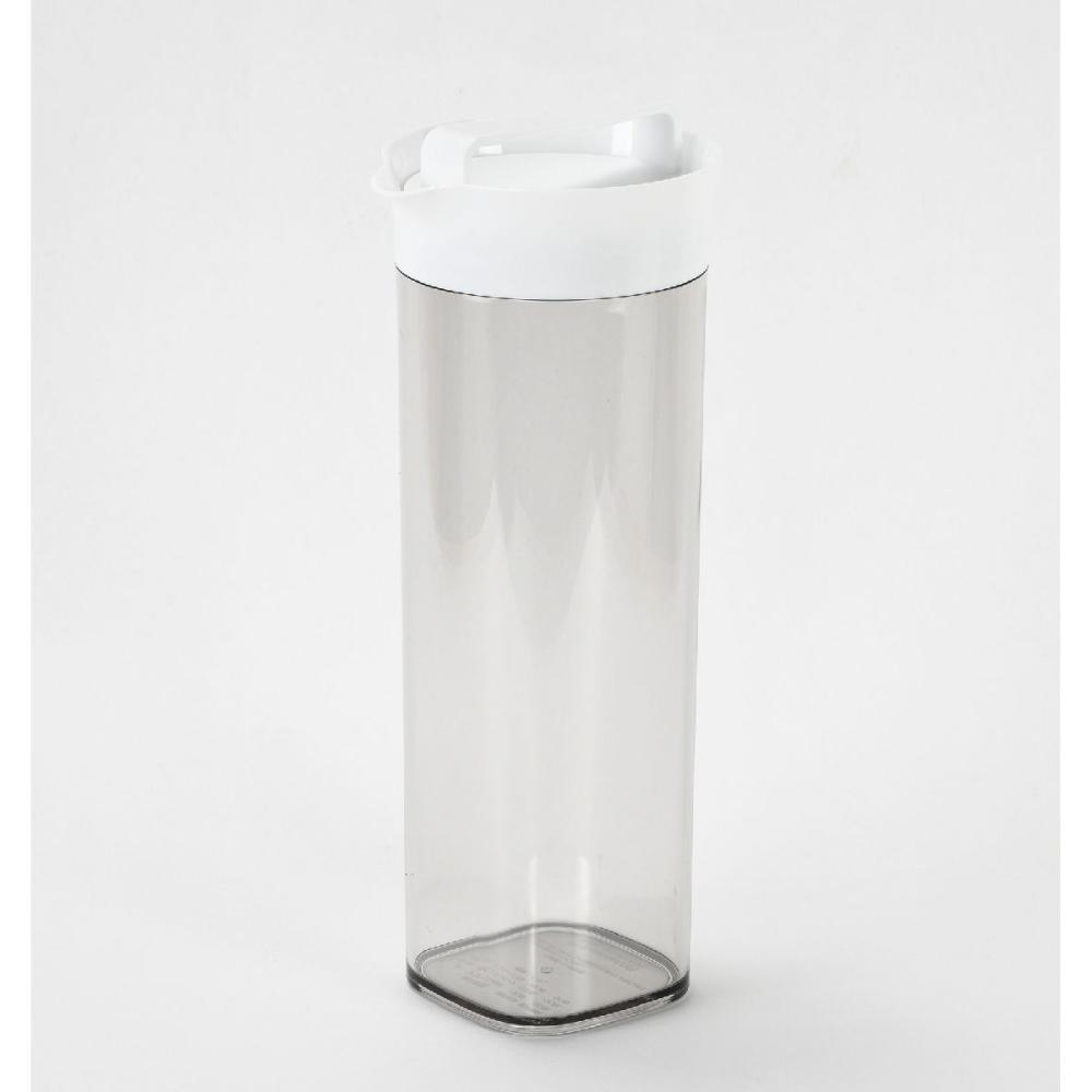 パール金属 冷蔵庫にピッタリ収納 スリム冷水ポット 1.1L
