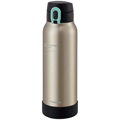 ピーコック魔法瓶 ワンタッチマグボトル スポーツドリンク対応 マットクリア AKE-R80