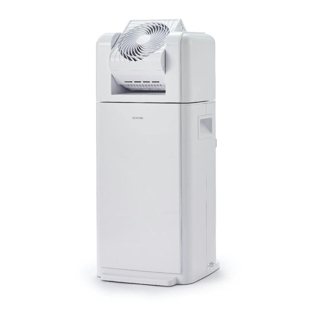 アイリスオーヤマ サーキュレーター衣類乾燥除湿機 8L ホワイト IJDC-K80