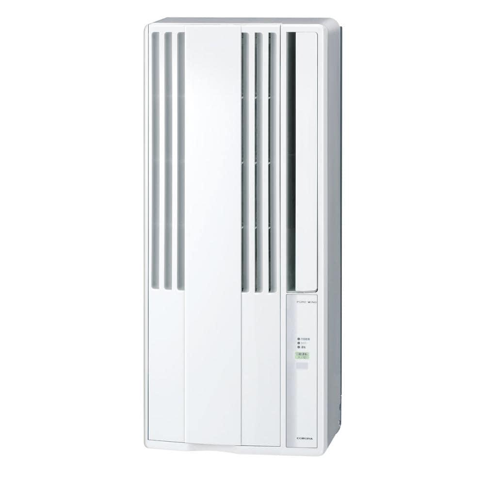 コロナ ウィンドエアコン 主に5畳用 冷房専用 シェルホワイト CW-1621(WS)