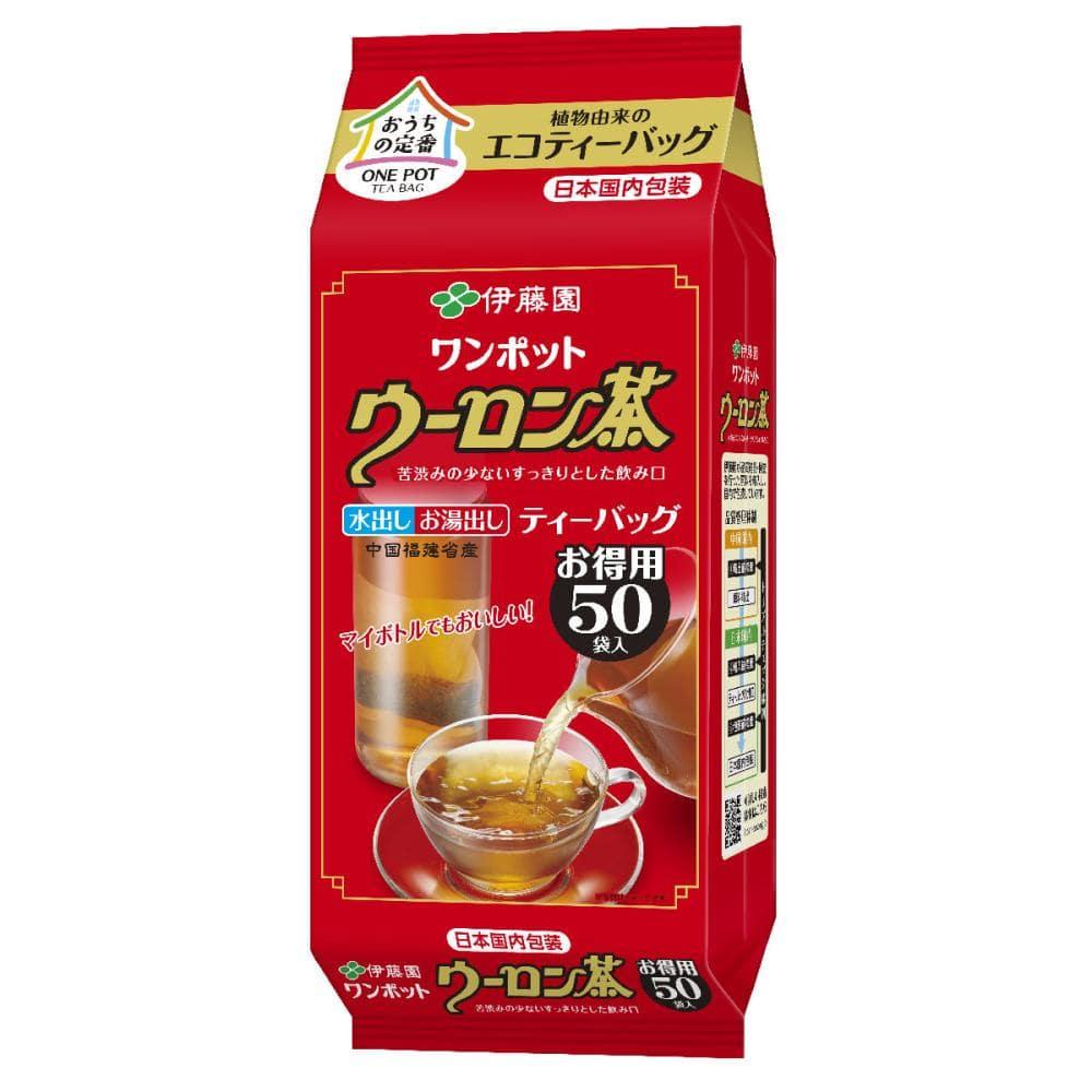 伊藤園 ワンポットウーロン茶 ティーバッグ 50袋入り