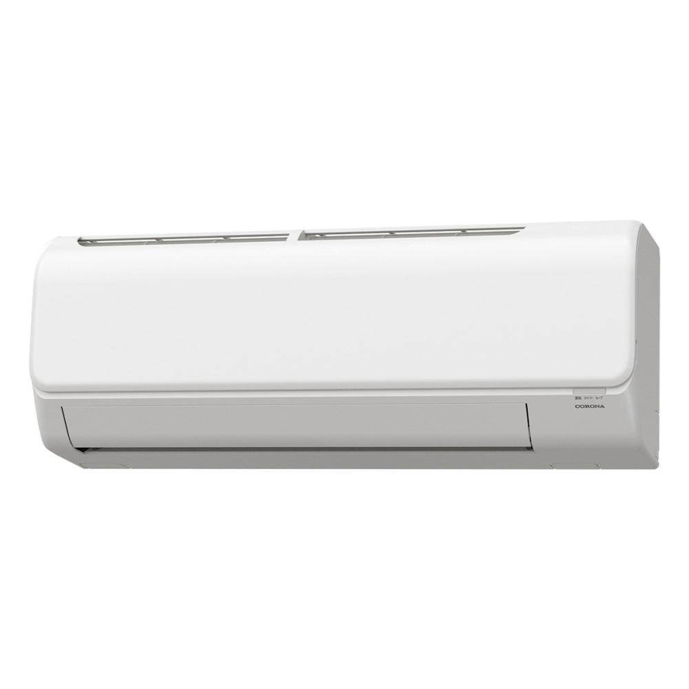 コロナ 冷暖房エアコン リララ 8畳用 CSH-N2521R(W)