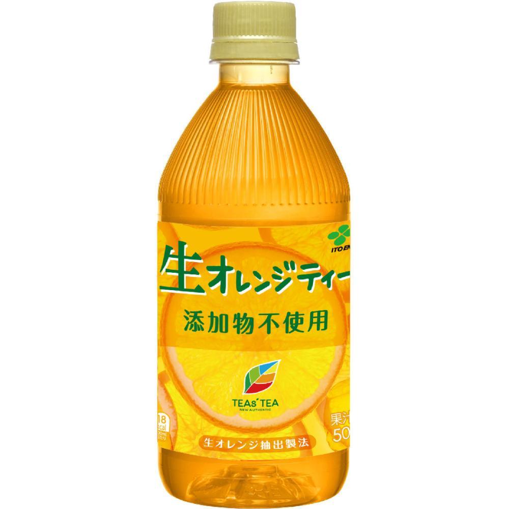 伊藤園 ティーズティー 生オレンジティー 500ml