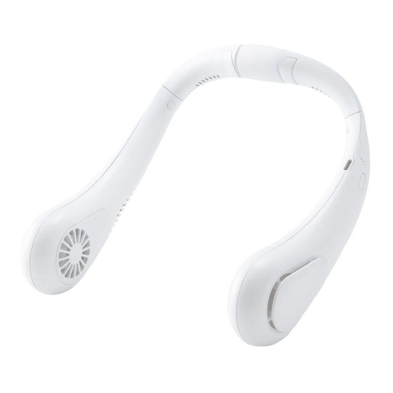 充電式ブレードレスネックファン ホワイト
