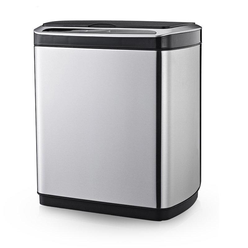 【ドットコム限定特価】AURORA(オーロラジャパン)センサー自動開閉ゴミ箱 ステンレス 30L SDB031