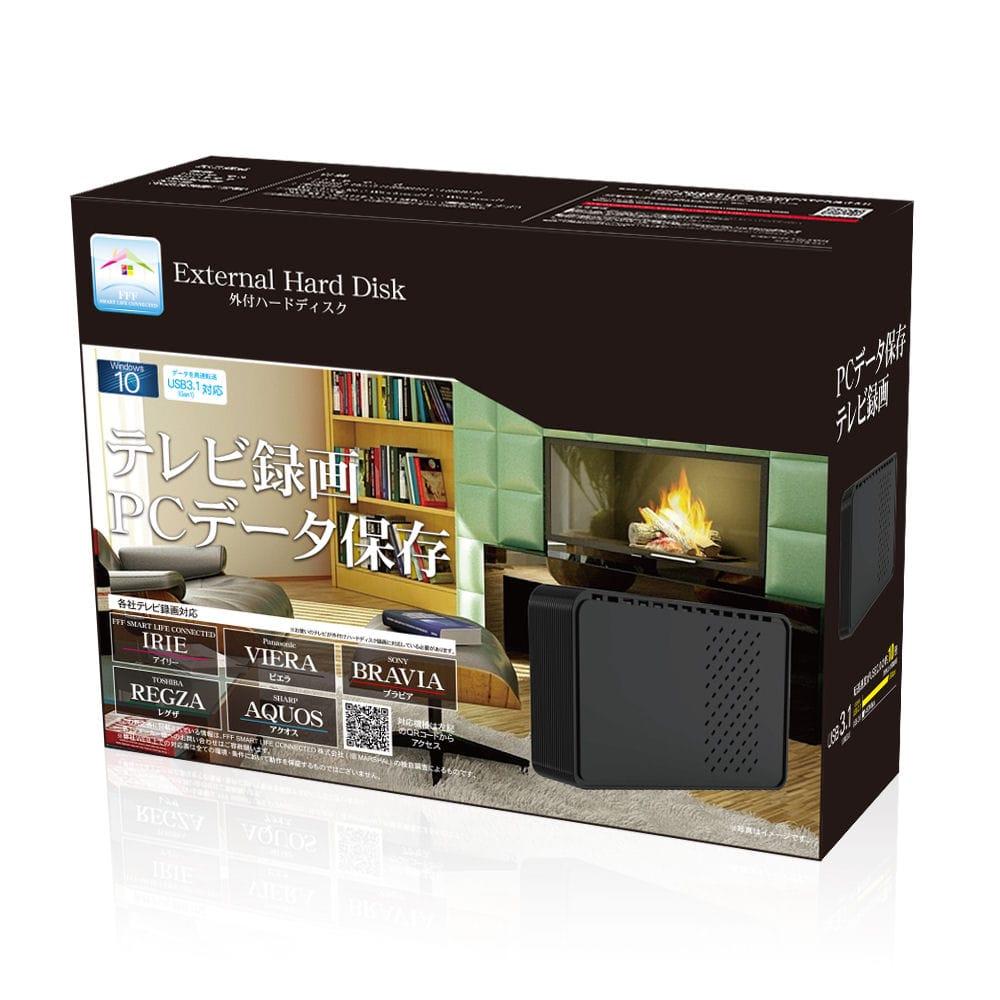 グリーンハウス TV録画対応外付HDD 4TB
