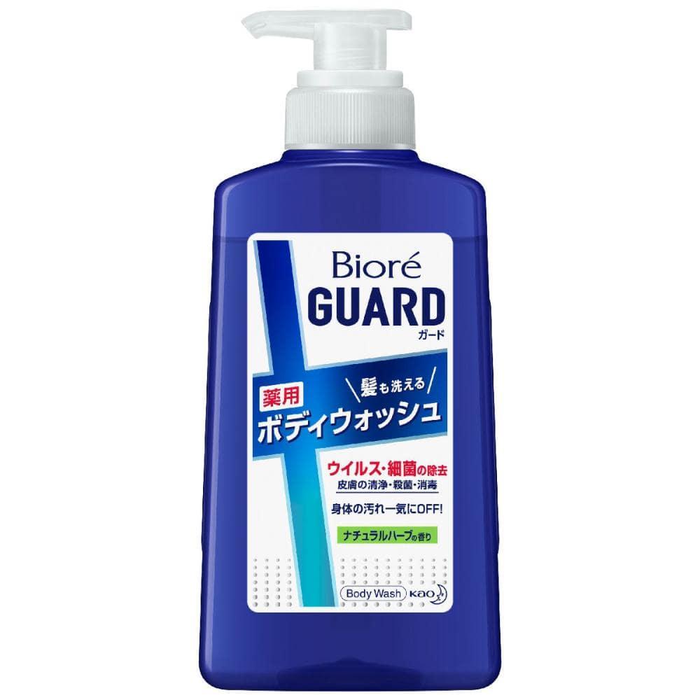 花王 ビオレガード 髪も洗える薬用ボディウォッシュ 本体 420ml