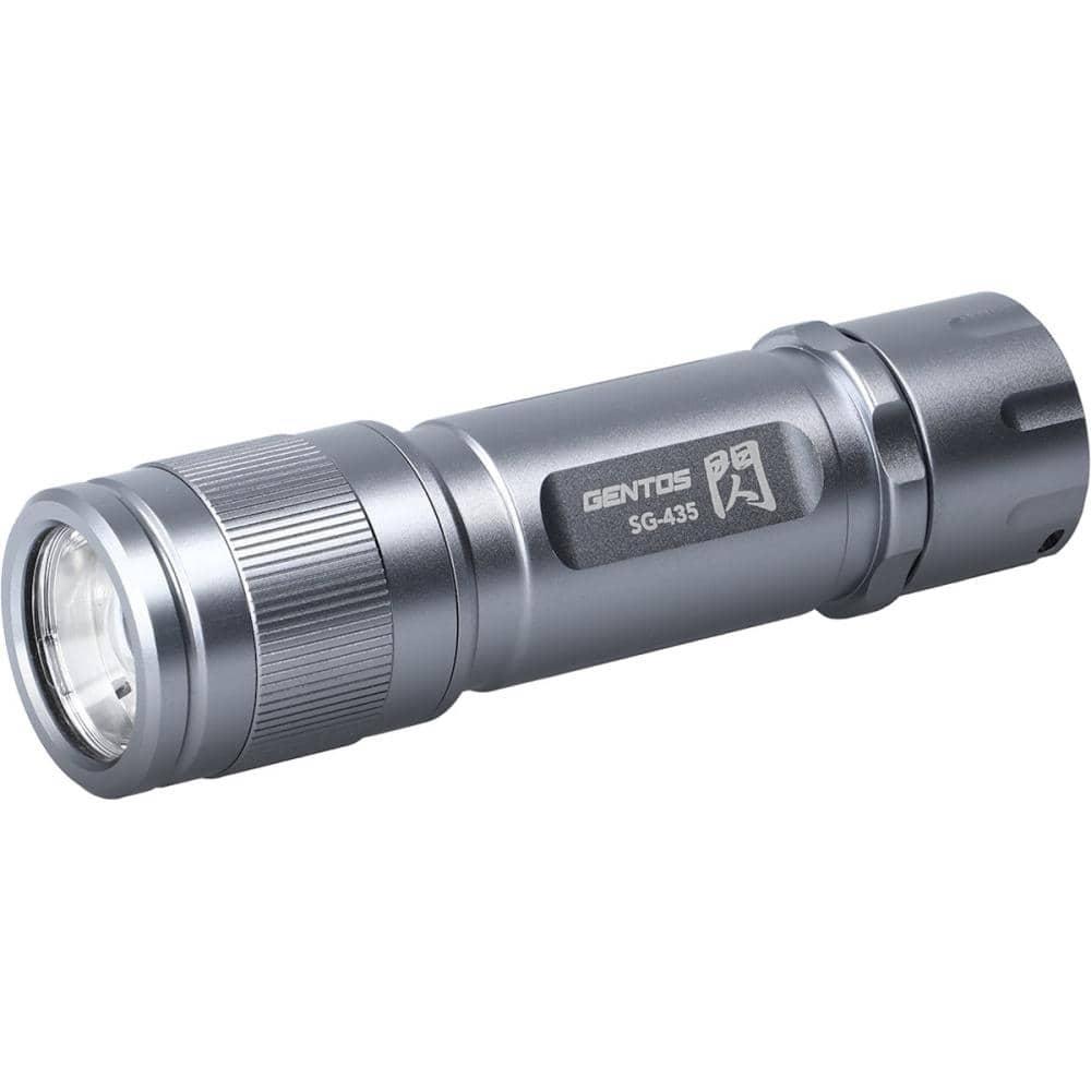 ジェントス LEDライト フラッシュライト 閃 SG-435